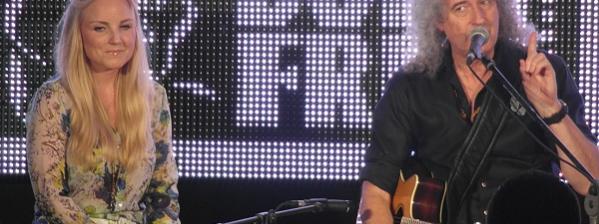 Kerry Ellis & Brian May performance