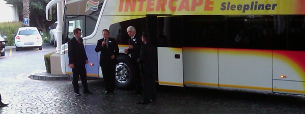 Intercape G7 ribbon cutting