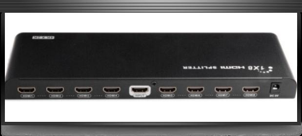 Lengkeng 8 Way HDMI Splitter