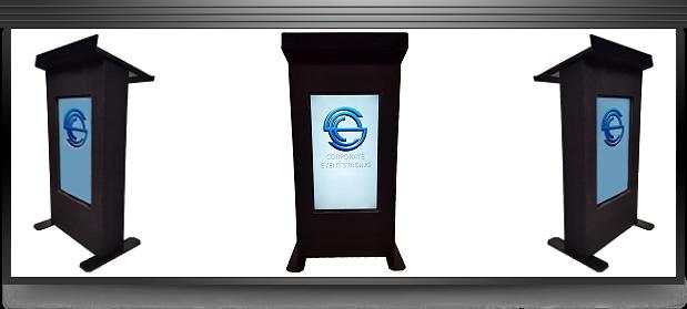 LCD Podium