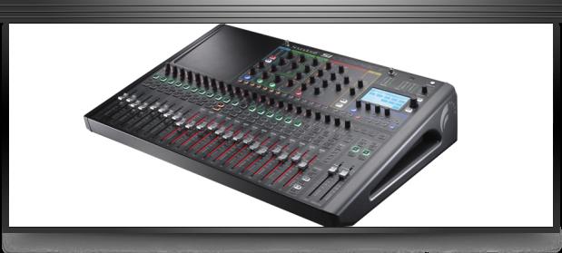 The Soundcraft Si Compact 24 Audio Mixer