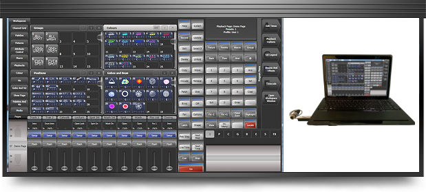 Avolites Titan One lighting control software