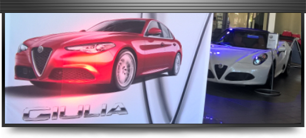 Alfa Romeo Giulia Launch