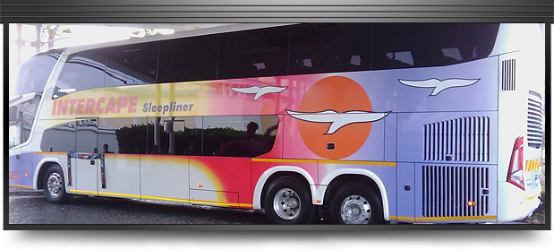 Intercape G7 bus launch