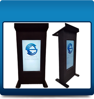 LCD Lectern